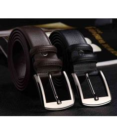 High Genuine Leather crocodile grain Men belts