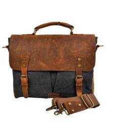 Men's Shoulder Bag Retro Genuine Leather on Sale