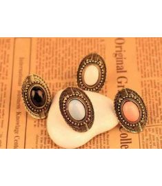 Vintage gem rings jewelry
