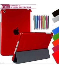 Trifold Smart Stand Cover For iPad Mini, Mini 2, Mini 3, iPad Air, iPad Air2