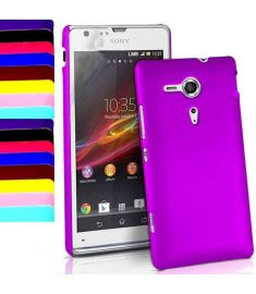 Thin Hard Shell Back Cover Case For Sony Ericsson Xperia SP M35H C5302 C5303