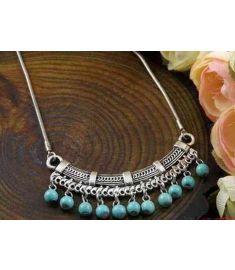 Bohemia Tibet Jewelry Vintage Turquoise Pendant