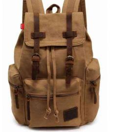 Rucksack Canvas Laptop Backpacks