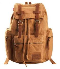 Backpack Canvas Bag Laptop