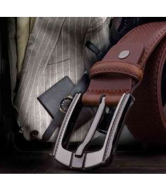 Man Belts Genuine Leather Waist Strap Vintage