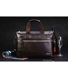 Mens Casual Business Briefcase Shoulder Handbag
