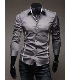 Shirts Casual Slim Fit Stylish Mens Dress Shirts