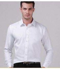 Slim Fit No Iron Men Shirt Long Sleeve Stripe French Cuff plus sizeS-5XL