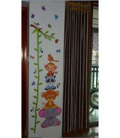 Kids Wall stickers Small Animal Cartoon