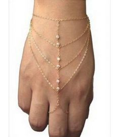 Chain Tassel Bracelet