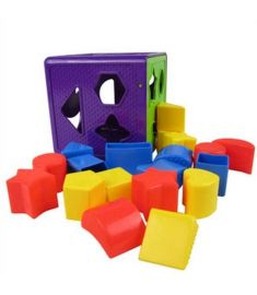 18 Intellectual Box Shape Toy Building Blocks