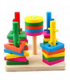Suit Blocks of Five Pillars Intelligence Learning and Education