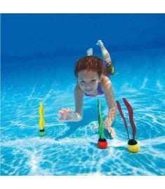 Kids Water Toys Activity Diving Underwater Seagrasses