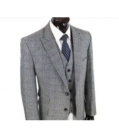 Suit For Men Custom Made Slim Fit 3 Piece