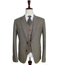 Wool 3 Piece Suits Slim Fit