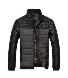 Classic Warm Jackets Plus Size Patchwork