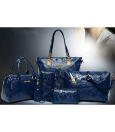 Bag Set  PU Leather Ladys Handbag