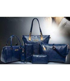 Bag Set  PU Leather Ladys Handbag