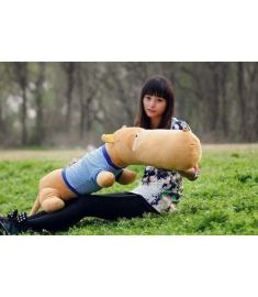 85cm Plush Toys Lovely Big Head Dog