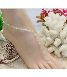 Barefoot Sandals Toe Anklets