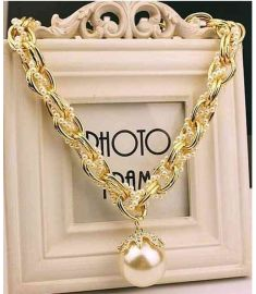 Choker Necklaces Multilayer Thick Chain