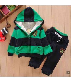 Baby Sports Suit Jacket Sweater Coat & Pants