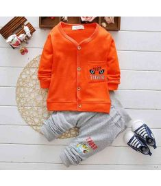 Leisure Suit Boys Clothing Set Coat and Trousers