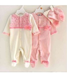 Newborn Baby Girl Clothes Jumpsuit