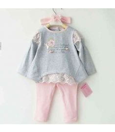 Baby Girl Floral Clothes Set