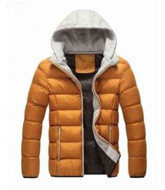Winter Jacket Men Warm Down Jacket Padded