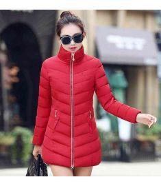 Womens Fur Collar Long Coat