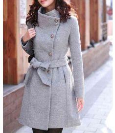 Womens Woolen Cotton Winter Jackets