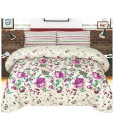 3 and 2 Piece Printed Quilt Set Bedspread with quilt cover and pillow cover
