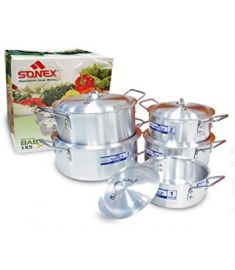 Aladdin online mall Baby pot set pack of 5 metal finished by sonex