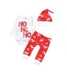 Christmas Newborn Infant Baby Boy Romper Tops