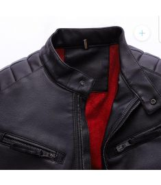 Pure leather jacket for men