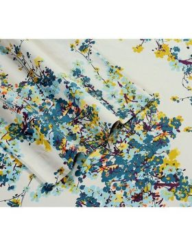 Blue tree Sateen T-350 double bed sheet with pillow covers