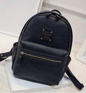 2b7817d18 New Fashion Women Backpacks Women's PU Leather Backpacks Girl ...