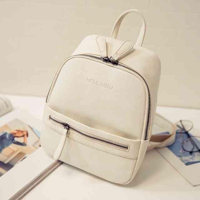 8940d47f92 Women Backpack New Fashion Casual PU Leather ladies feminine ...